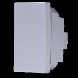 Interruptor Bipolar Paralelo 16A Prata N1102.2 PR, Linha Unno Life, ABB – 2