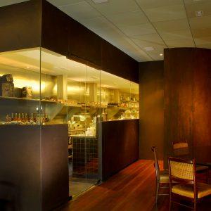 Revestimento Corten – Restaurante DOM