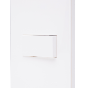 Conjunto 1x Interruptor Simples N1501 BL Branco, Linha Unno, ABB – 2