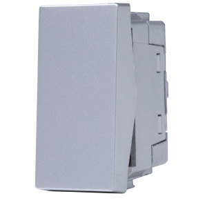 Interruptor Bipolar 20A Prata N1101.7 PR, Linha Unno Life, ABB – 2