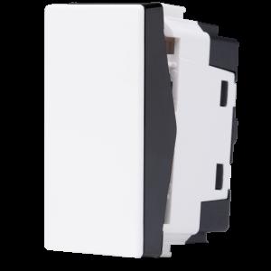 Interruptor Intermediáiro 10A Bicolor N1110 BN, Linha Unno, ABB – 2