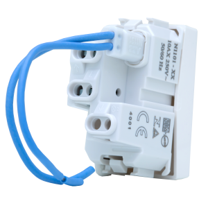 Interruptor Paralelo c LED 10A Branco N1102.3 BL, Linha Unno, ABB – 5