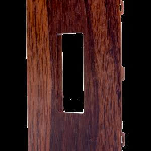 Placa 4×2 1 Módulo Vertical N1371.1V WG Wengue, Linha Unno Life, ABB – 2