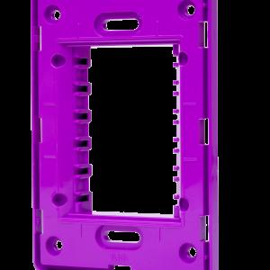 Suporte 4×2 Horizontal N1373.9 LL Lilas, Linha Unno, ABB – 2