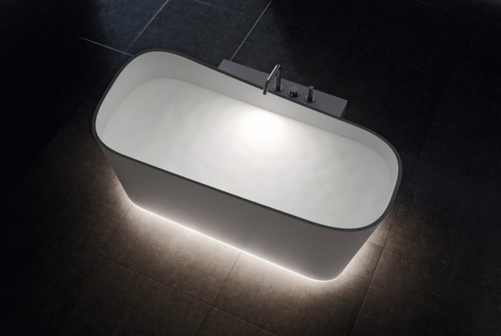 Novellini lança série de banheiras com exclusivo design italiano em cores e formas contemporâneas
