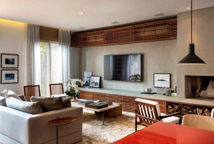 Dicas para usar o painel ripado em madeira na decoração da casa