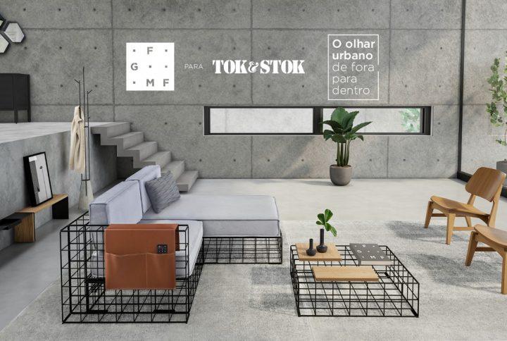 Tok&Stok lança coleção exclusiva com o escritório de arquitetura FGMF