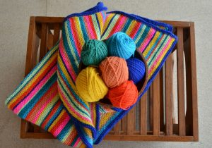 Crochê e Tricô na decoração da casa