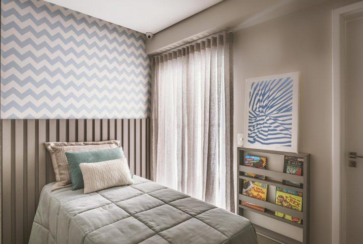 Saiba como usar o clássico chevron no décor dos ambientes