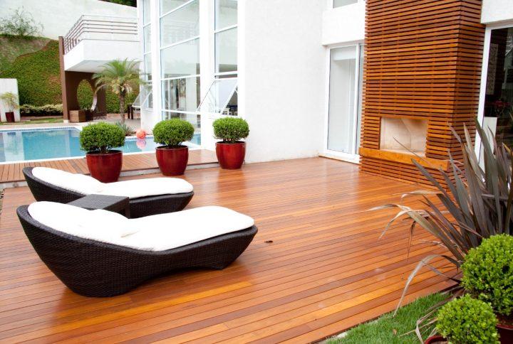 Deck em Cumaru para compor o Jardim?