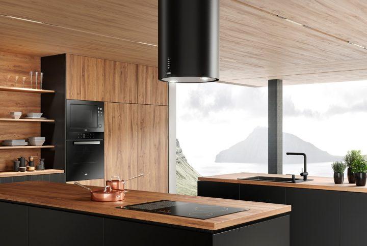 Coifa Tunnel Plus da Franke tem design inovador  para cozinhas contemporâneas