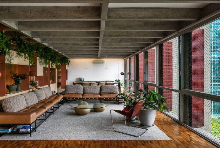 Apartamento AMRA7 por Bruno Rossi Arquitetos + Piratininga Arquitetos Associados